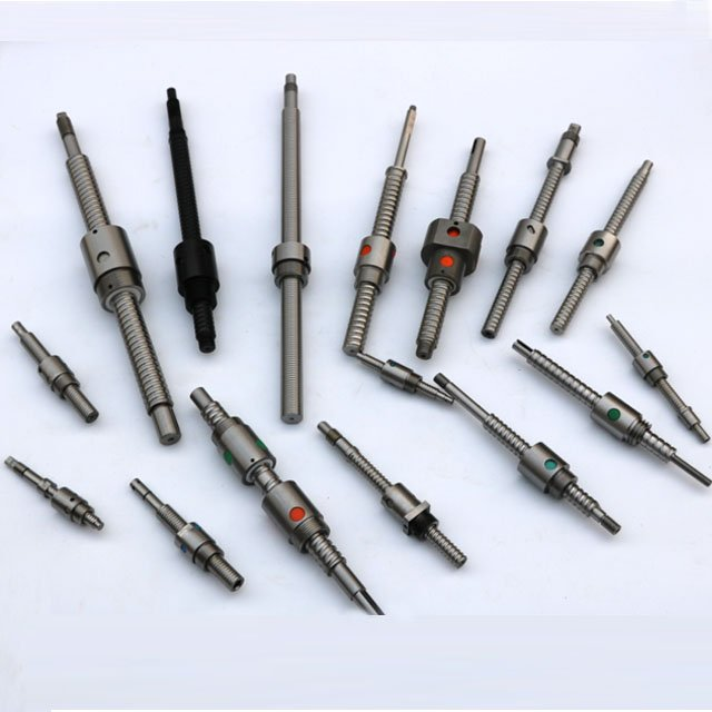 Custom threaded round nut ball screws for linear actuator.jpg