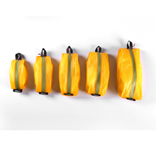 Waterproof Bag ,yellow color,15D nylon double-sided silicone, 5 Different Size for Travel
