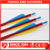 "Aims spine 550 shooting aluminum arrows with TPU 4""plastic vane with changable arrowhead"