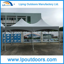 Double Peak Aluminum Frame Spring Top Tent For Outdoor Activities