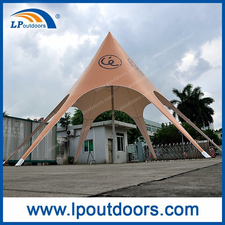 8m Beach Sun Star Shade Spider Tent for Advertising