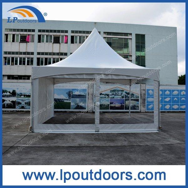 5x5m white frame tent0