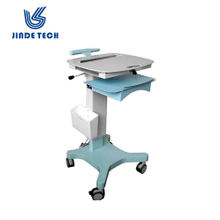 Medical workstation trolley