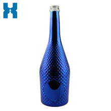 750ml Electroplating Champagne Glass Bottle
