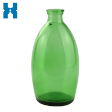 Green 750ml Glass Bottle for Spirits