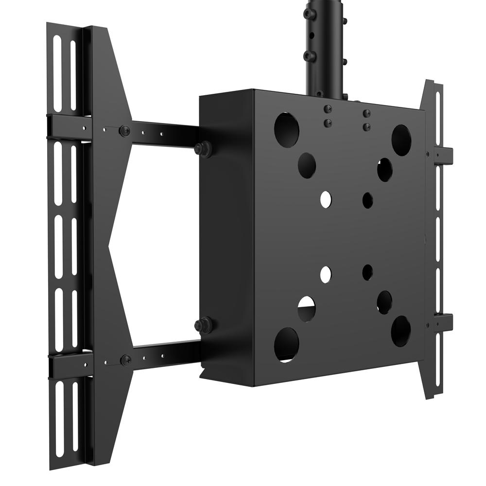吊顶电视支架带集线盒436