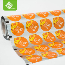 Biodegradable Laminating Aluminum Foil PP/PET/PS Plastic Cup Sealing Roll Film