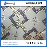 Hot sale ice flower backlit glass with excellent quality and hot price