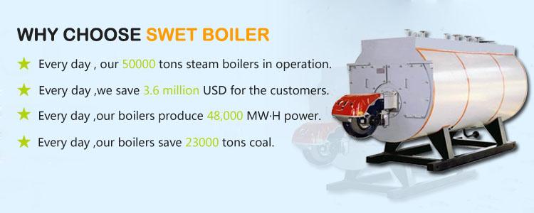 new steam boiler