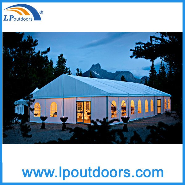 200 People Outdoor Party Events Marquee Wedding Tent for Rental