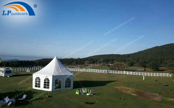 Dia 8M Outdoor Customized Polygon Pagoda Tent For Party