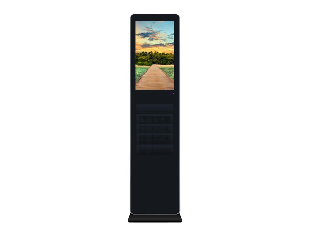 仿苹果书架广告机-1