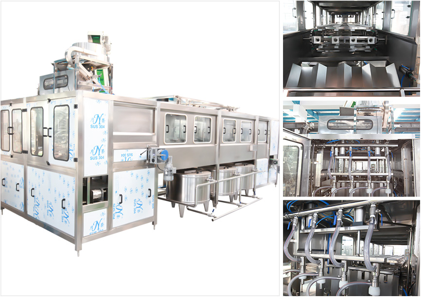 5 gallon filling machine line