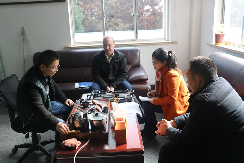 Meeting with customer from USA