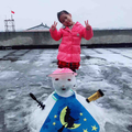 The first snow in Changzhou in 2018