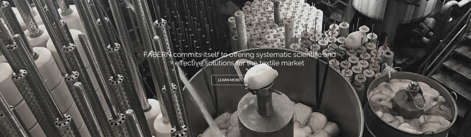FABERN commits itself to offering systematic scientific and effective solutions for the textile market