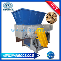 Waste Wood, MDF Plywood Board, Wood Pallet Shredder Machine