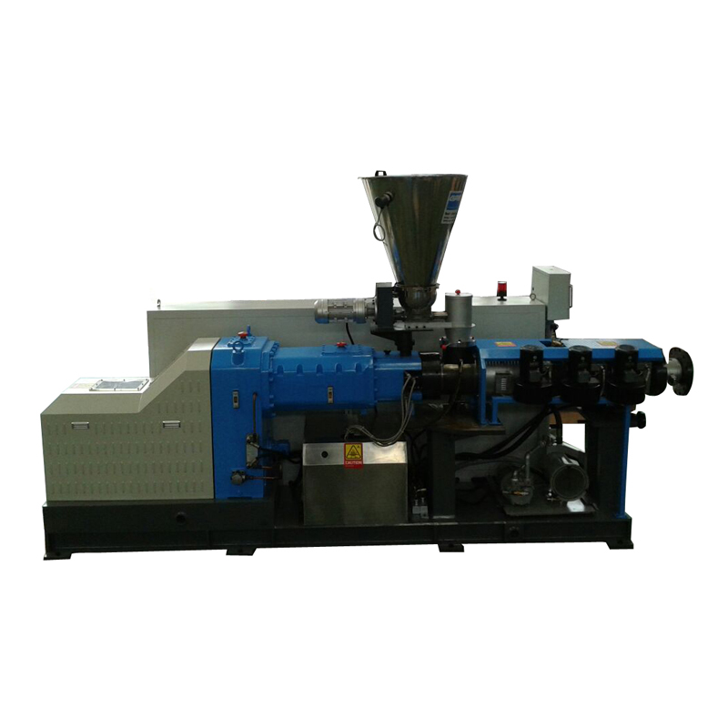 conical twin screw extruding machine