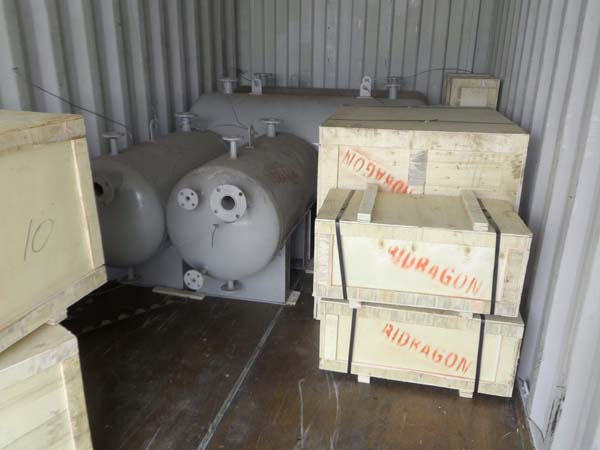 thermal oil system parts
