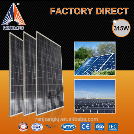 Solar Panel Stock,315W Solar Panel Thermal