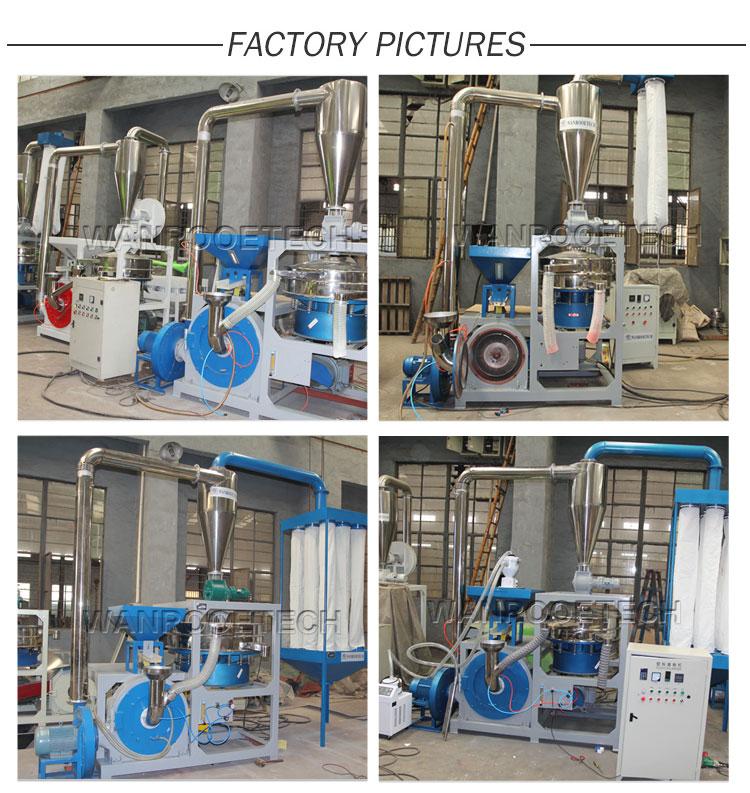 ABS ,EVA ,PP Disc Plastic Pulverizer factory