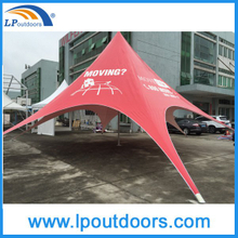 High Quality Full Digital Logo Printing Large Shelter Star Tent For Advertising Promotion