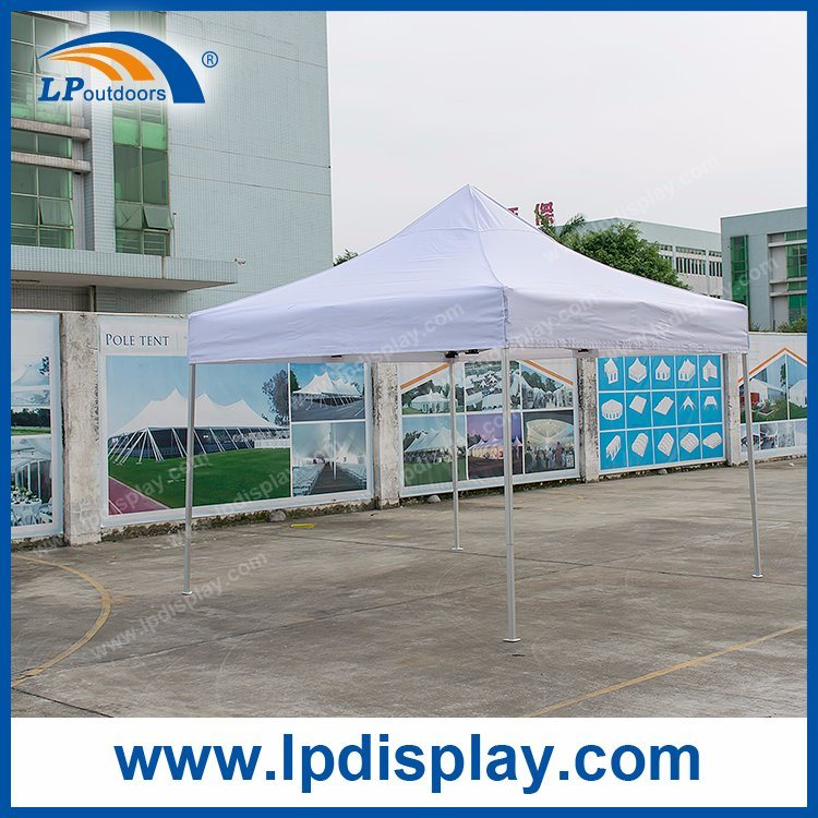 10X10' White PVC Outdoor Folding Canopy Pop up Tent for Sale