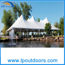 2016 New Style Cheap Steel Frame Pole Party Wedding Event Tent