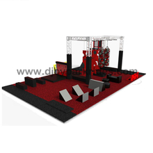 DJNC05 Commercial Mini ninja warrior for sale