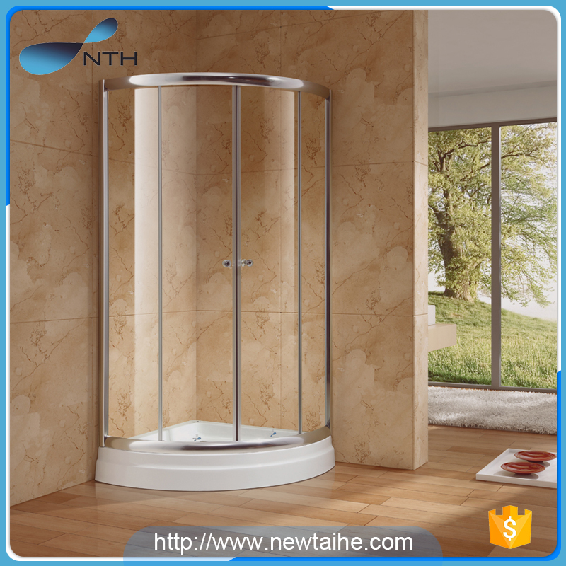 NTH china product custom cheap round free standing glass lowes ...