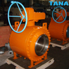 3 Piece Forged Trunnion Mounted Ball Valve