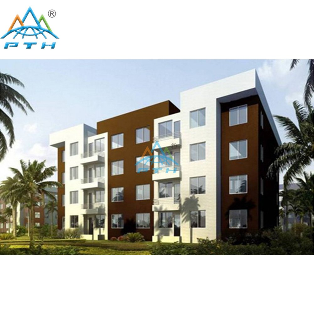 Prefabricated Apartments Building | Modular Apartment Buildings from PTH