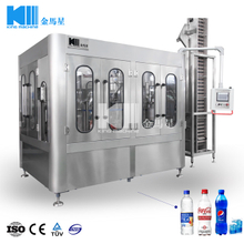 Carbonated Drink 3-in-1 Filling Machine 3000BPH
