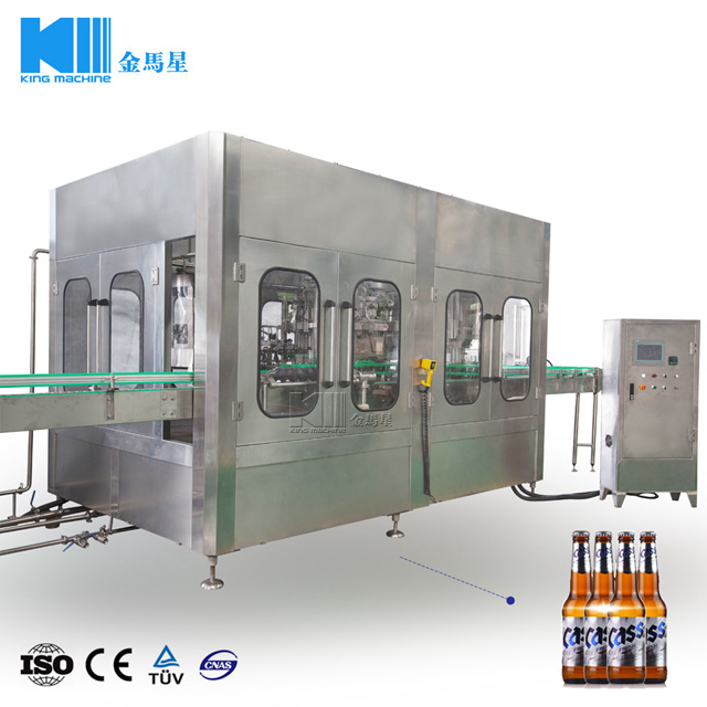 Automatic Beer Filling Machine 8000BPH
