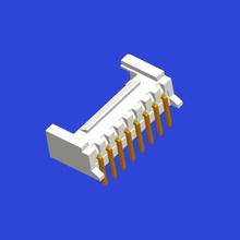 PH2.0mm间距单排带扣T6弯针