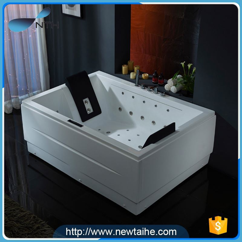 NTH alibaba gold supplier beautiful ISO air bubble jet detail tub ...