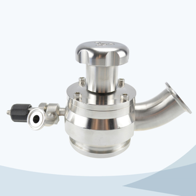 stainless steel food processing aseptic tank bottom valve