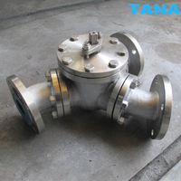 120 Degree 135 Degree Y Type 3 Way Ball Valves