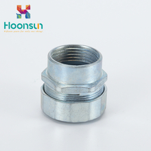zinc alloy DPJ galvanized steel Flexible Conduit Connector price factory supply