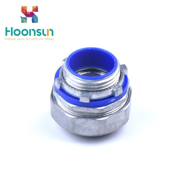 top quality yueqing metal waterproof for nylon pipe Flexible Conduit Connector