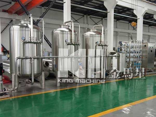 Uzbekistan Customers ordered another water treatment machine
