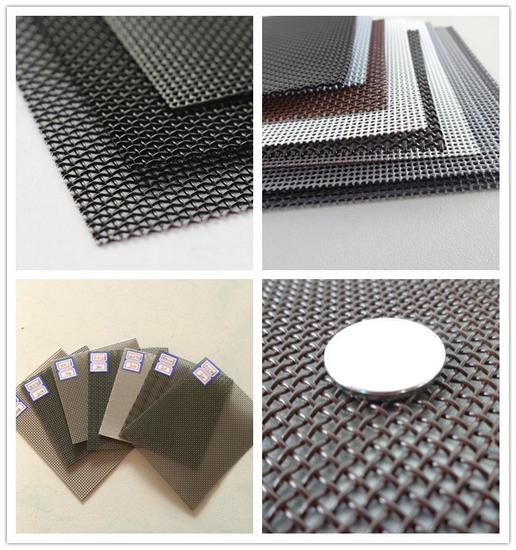 Black Wire Cloth | Security window screen mesh | theft proof bullet ...