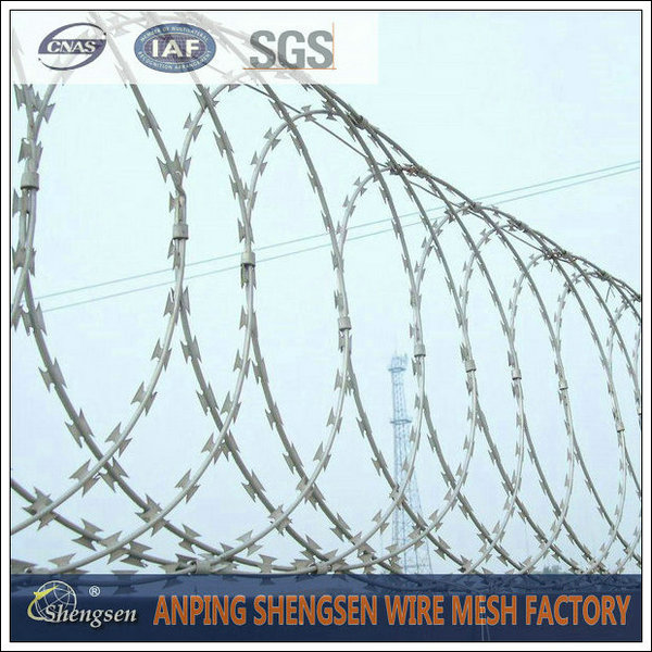 Razor Wire - Buy Wire Mesh, Metal Mesh, Wire Cloth Product on HEBEI ...