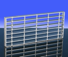 Steel Material Bar Grating Stair Tread A