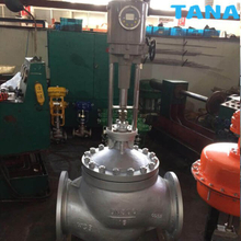 Electric Straight Through control valve