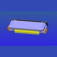 0.625mm间距抽屉式FPC