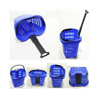 Plastic Shopping Basket with Hand Handle( YRD-10)