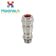 IP66 metal armoured metric explosion-proof cable gland