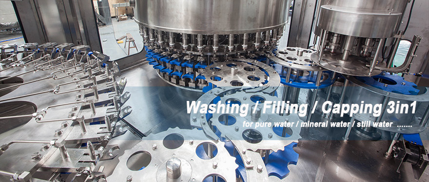 washing filling capping
