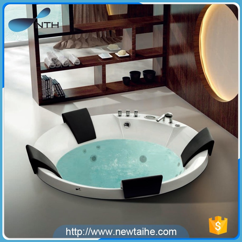 NTH Brand new cheap freestanding hotel outdoor acrylic whirlpool ...